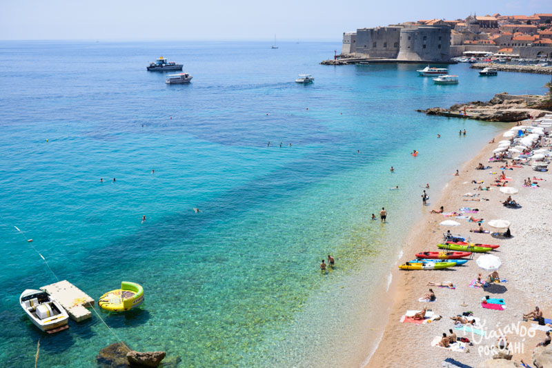Una foto-adelanto de Dubrovnik (se viene un post fotográfico del viaje, pero no ahora porque este ya está demasiado repleto)