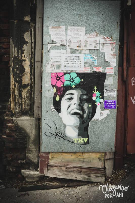 Arte callejero en Belgrado