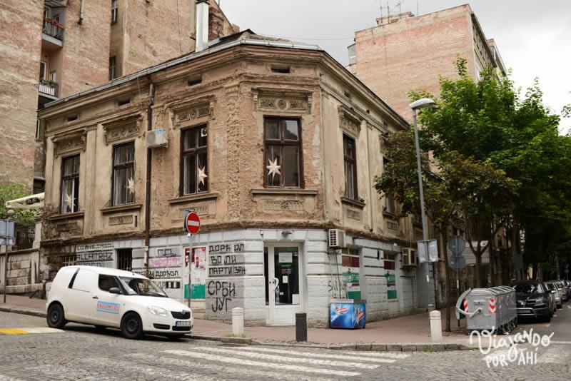 Las esquinas de la capital serbia
