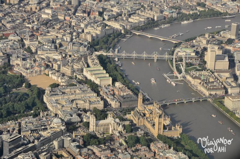 Como esta vista de Londres, por ejemplo