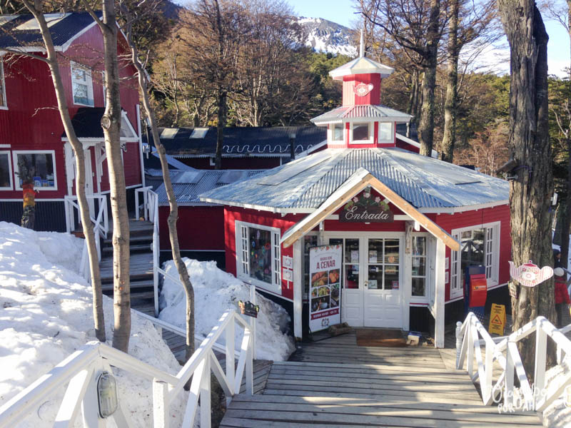 La entrada a la Casa de té