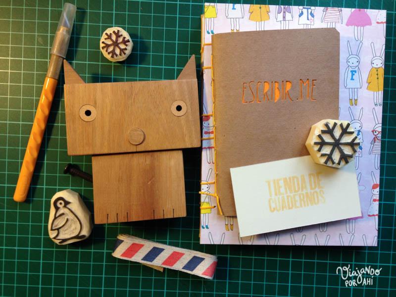 Los dos cuadernos que me regaló Laura
