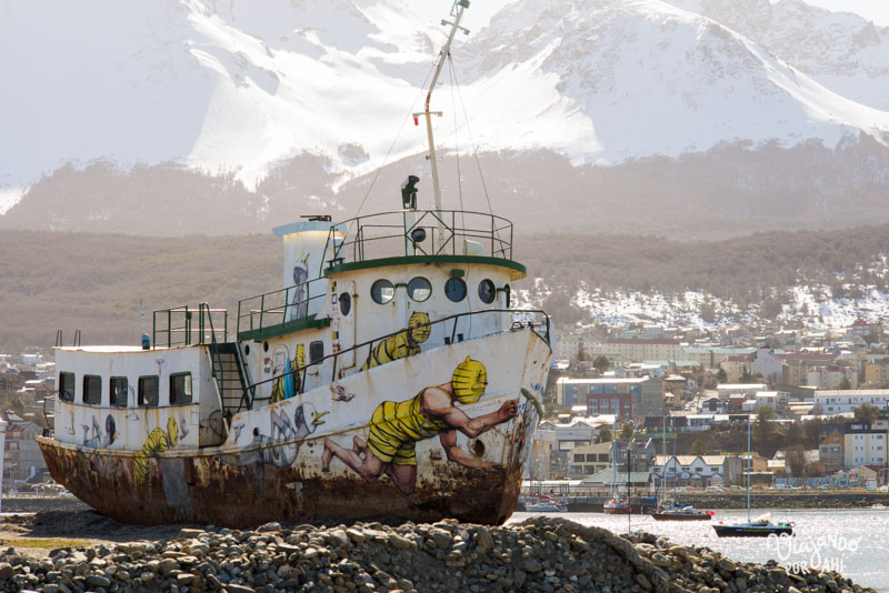 El barco pintado