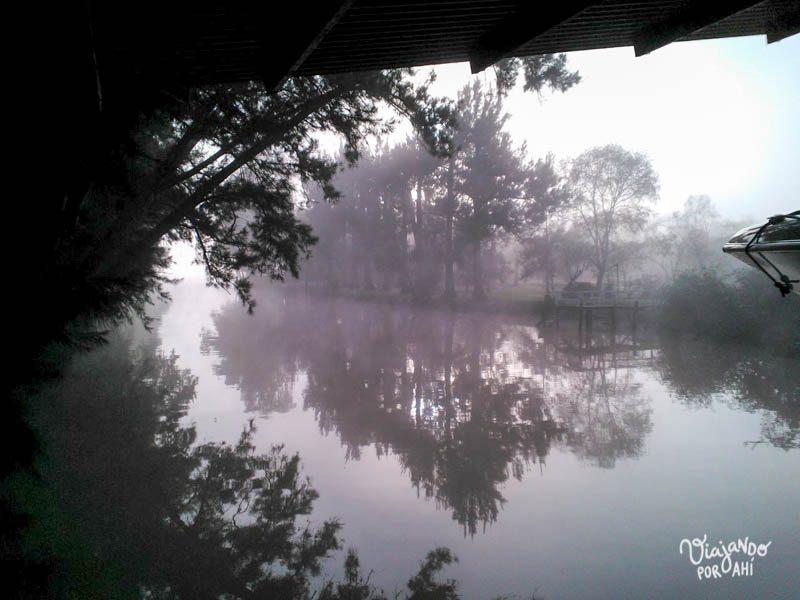 Este arroyo sale al Paraná. Si lo habré nadado...