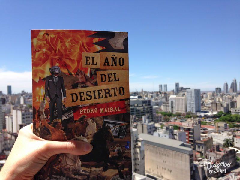 """Ya que hablamos de Buenos Aires, de Pedro Mairal y de escenas post apocalípticas, les recomiendo muchísimo su libro """"El año del desierto""""."""