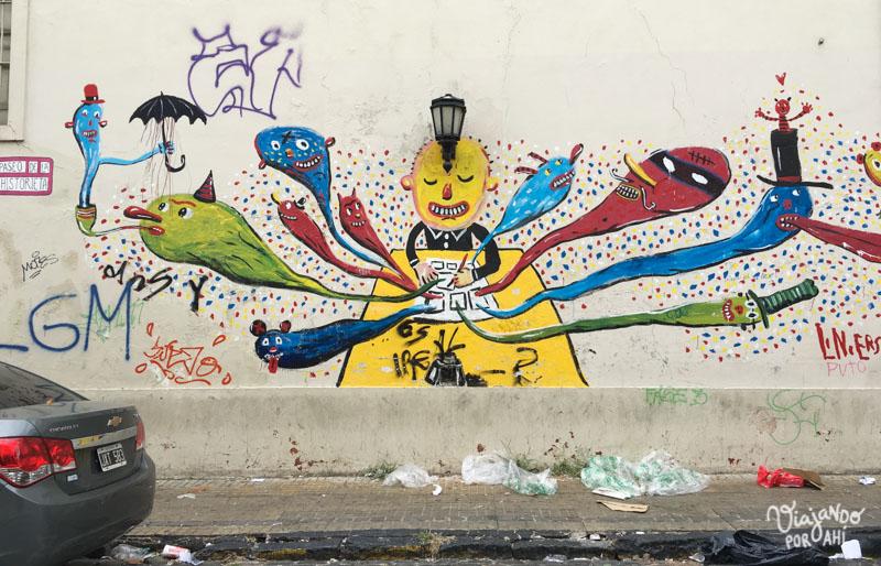 El mural de Liniers