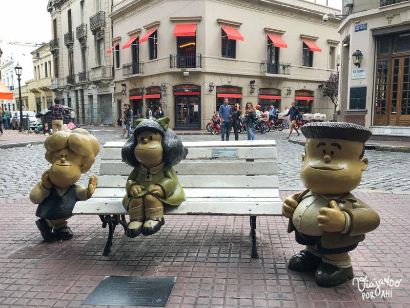 Mafalda, Susanita y Miguelito