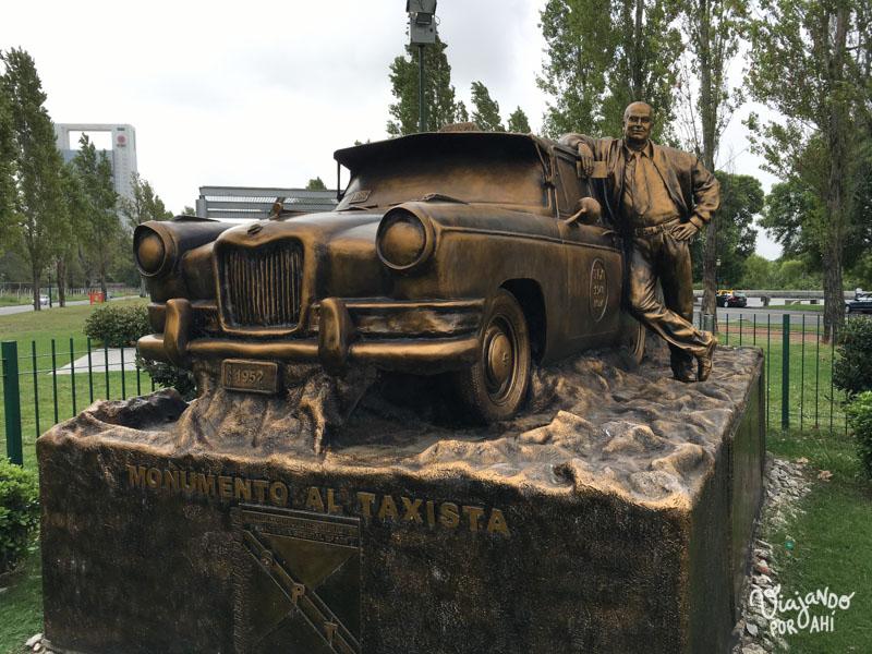 El monumento al taxista