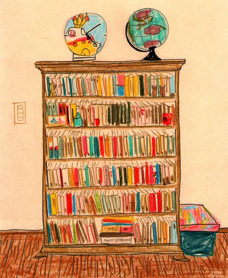 Esta es mi biblioteca, hermosamente ilustrada por María Luque.