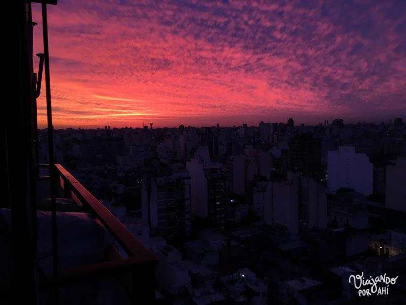 Este cielo que cambia.