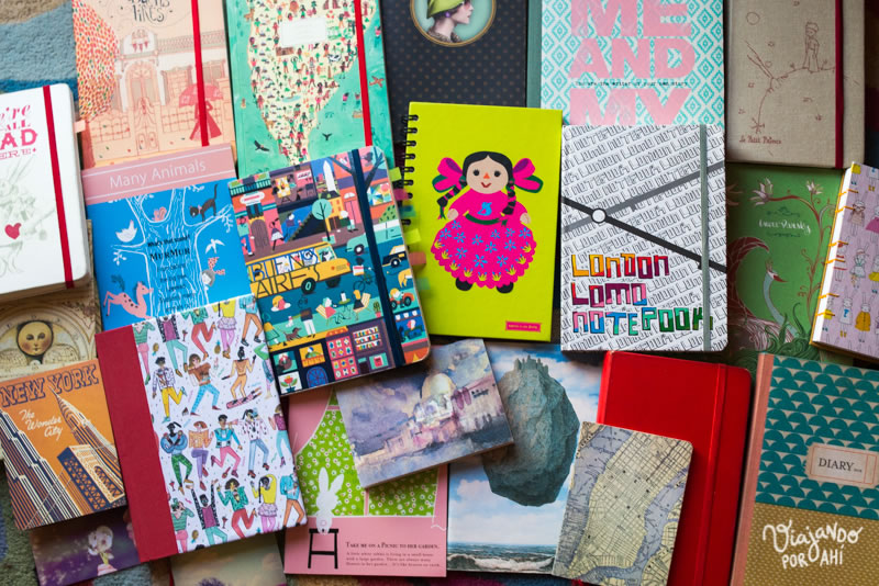 Mis cuadernos.