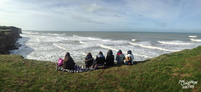 Y me fui a Mar del Plata a presentar el libro, de paso.