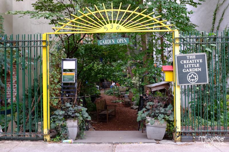 Jardines comunitarios del East Village