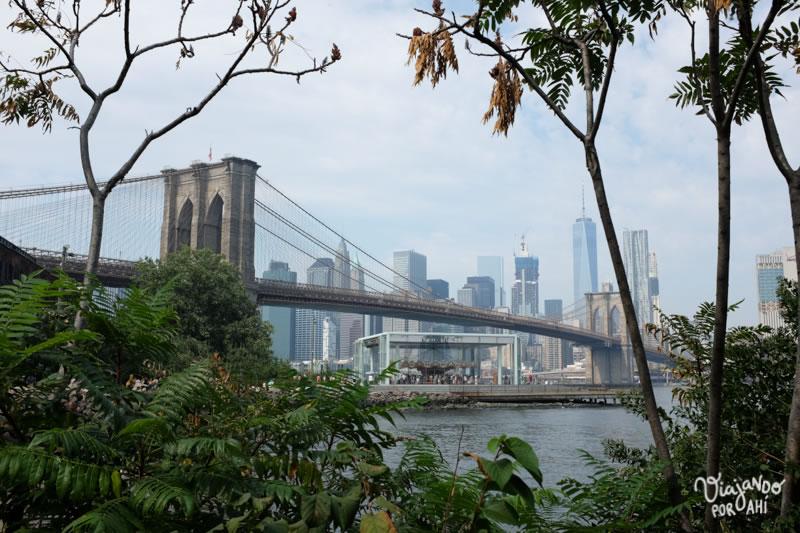 Manhattan a lo lejos