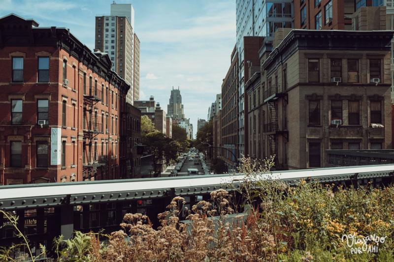 La ciudad vista desde el Highline