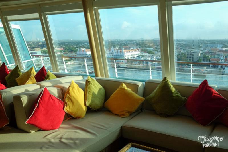 Sillón con vista a Aruba