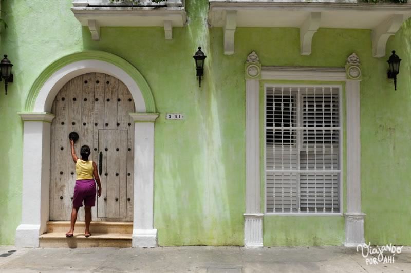 Cartagena de Indias y sus paredes de colores