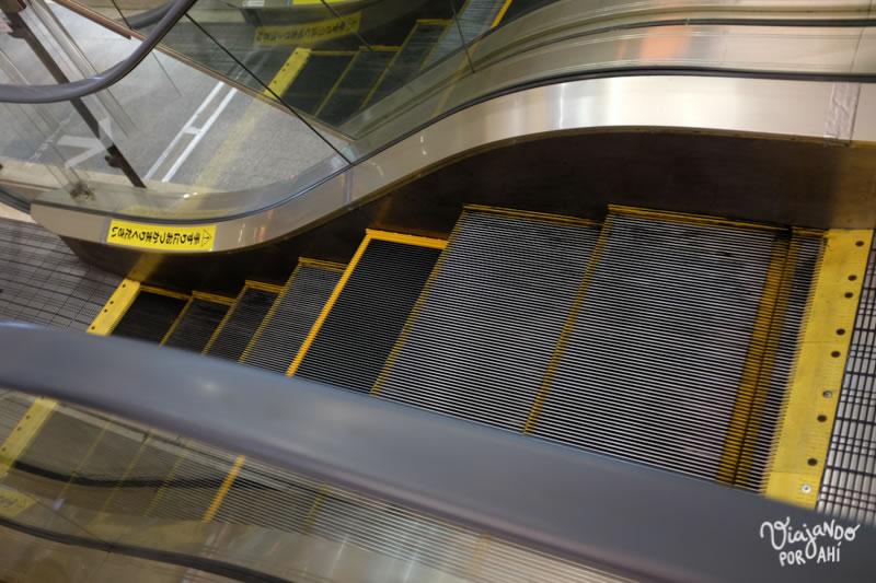 Está la escalera mecánica más corta del mundo (en Kawasaki)