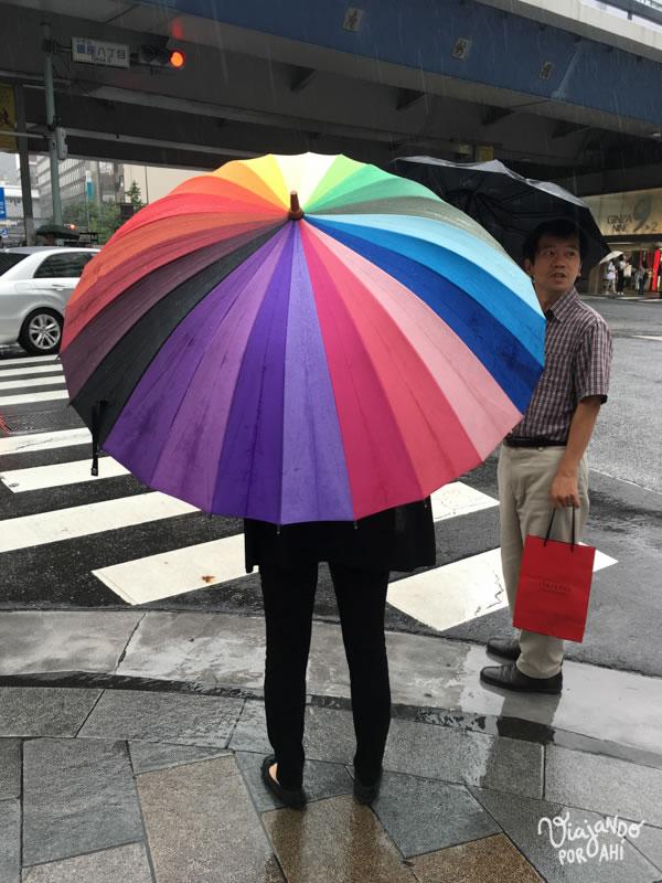 Hay paraguas de todo tipo