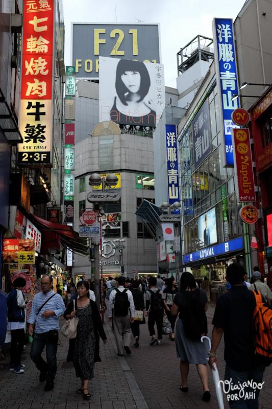Primera vez en Shibuya