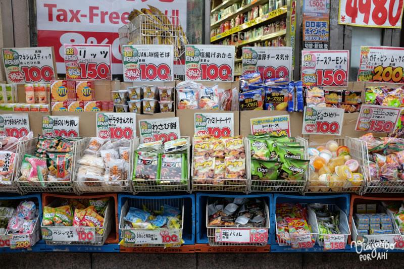 Casi todo por 100 yenes