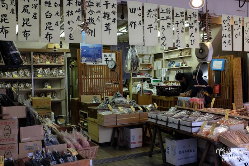 En el mercado Tsukiji