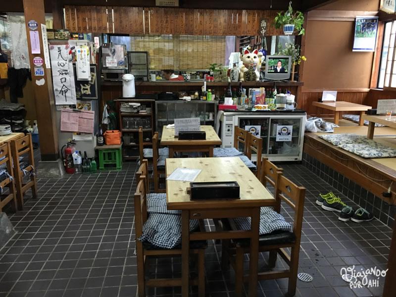 El restaurante mezcla de cocina y de casa