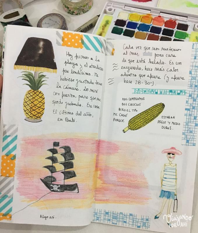 Cómo hacer un cuaderno de viaje: ideas y herramientas para ...