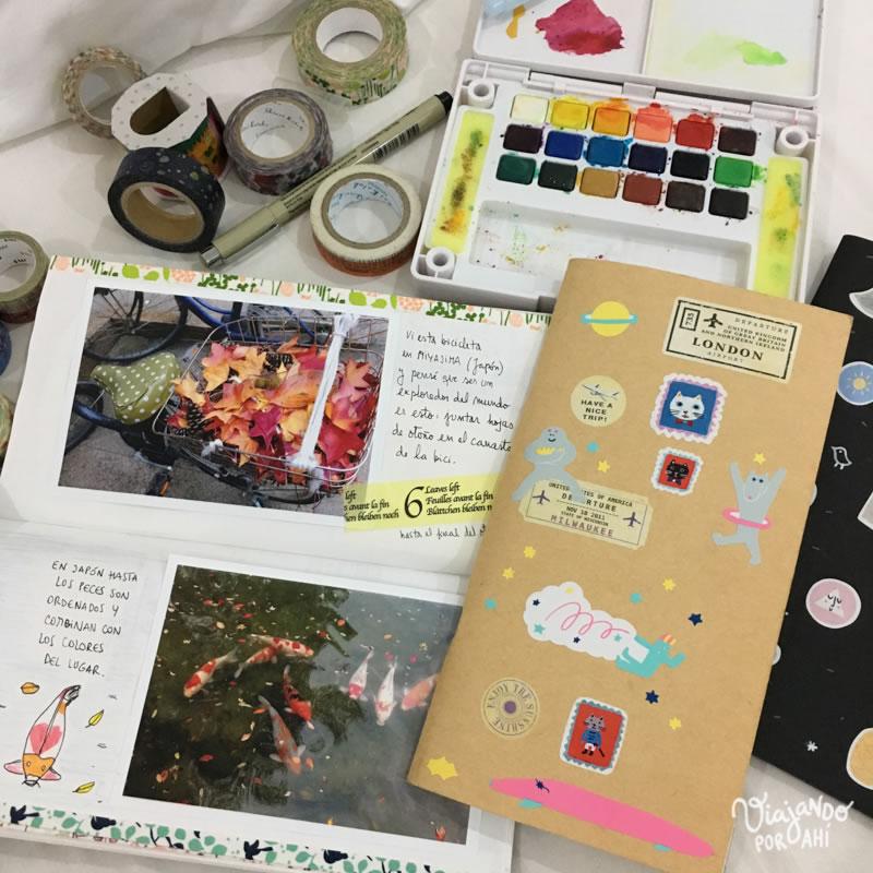 Cómo Hacer Un Cuaderno De Viaje Ideas Y Herramientas Para